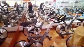 Спортзал, мой любимый антистресс. Тренировка на велотренажере CICLO INDOOR для похудения.(Похудение в тренажерном зале. Короткое видео, как я поддерживаю себя в форме. Спортзал в Испании. Тренировка..., 2016-06-13T16:32:21.000Z)