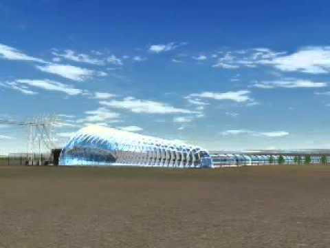 Solar Tower Power Plant - Solar Chimney - Solar Updraft Tower - EnviroMission
