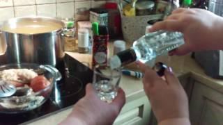 Уха с водкой