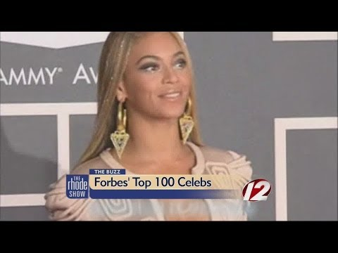 The Buzz: Forbes' Celebrity 100 List