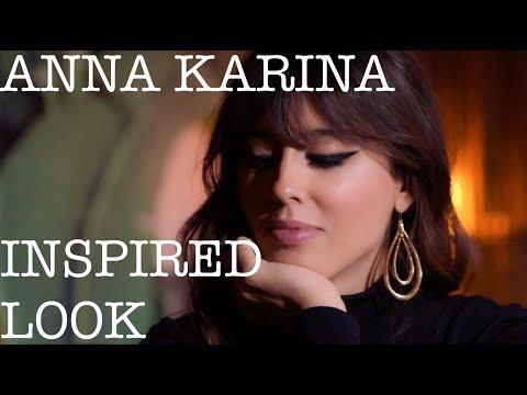 ANNA KARINA INSPIRED LOOK