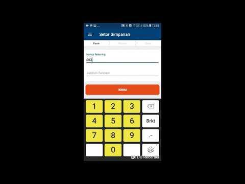 Cara setor simpanan di Aplikasi BRILink mobile
