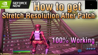 How to Get Strętch Resolution on GeForce Now after Patch (May 2021) New Method!