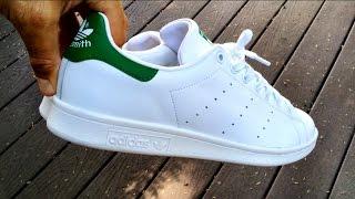 Adidas Originals - Stan Smith White/Green - ON FEET + Fit - Eddie Win