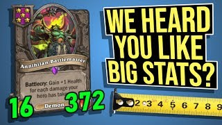 Just Your Average 16/372 Battlemaster | Battlegrounds | Hearthstone