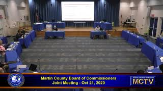 Martin County Joint Meeting October 21, 2020