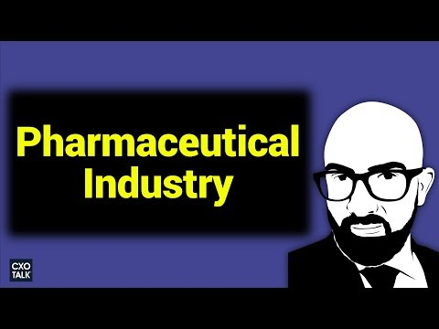 Digital Transformation in Healthcare and the Pharmaceutical Industry (CXOTalk #255)