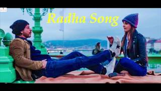 Radha Song Karaoke HD Jab Harry Met Sejal | Shah Rukh Khan | Anushka Sharma