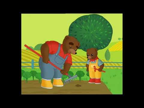 Petit ours brun petit ours brun fait le jardin youtube - Petit ours dessin anime ...