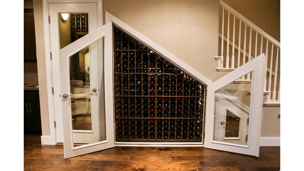 Closet Conversion Wine Cellar Construction Los Angeles