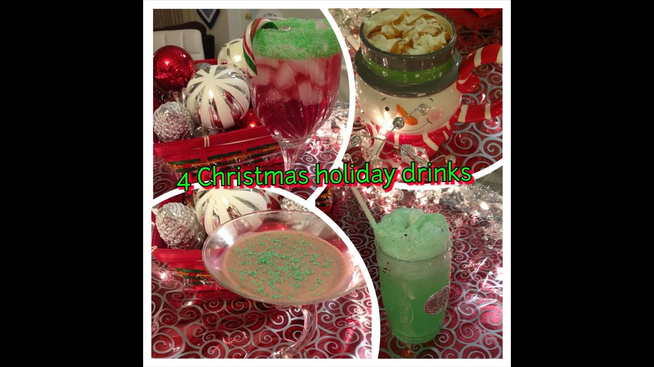 4 christmas and holiday cocktail drinks punch recipes - Christmas Punch Recipes With Alcohol