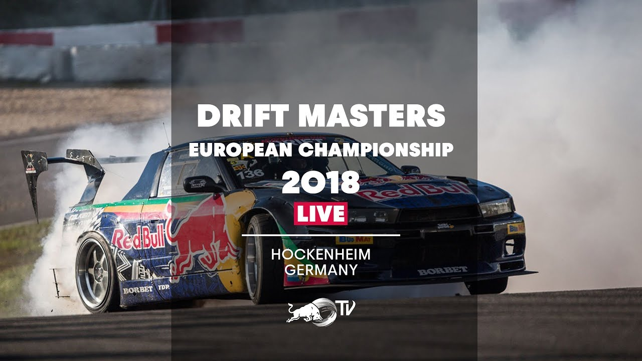 Drift Masters European Championship 2018 Live Qualifying In Hockenheim Germany Youtube