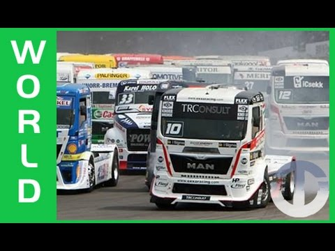 Truck Racing on Trans World Sport