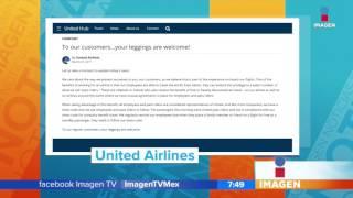 United Airlines no deja volar en