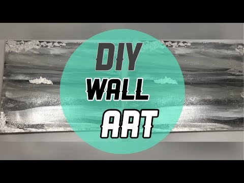 DIY ZGallerie Inspired Wall Art |Nady