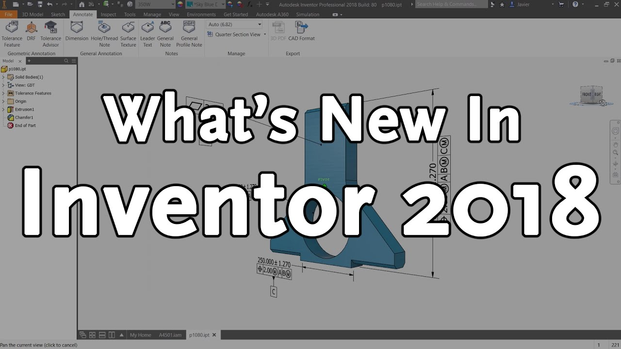 What's New in Autodesk Inventor 2018 - Overview | KETIV