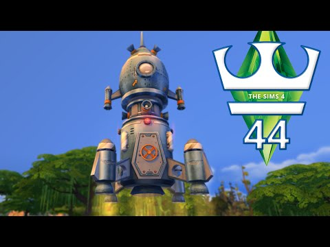 Jirka Hraje - The Sims 4 E44 - Problémy ve vesmíru