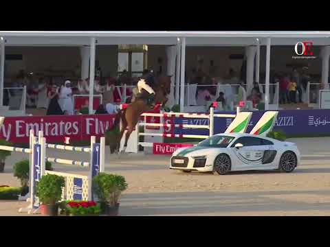 OE TV 6. Natale Chiaudani with Almero | Emirates Equestrian Centre  Dubai 1.60m January 20th 2018