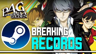Persona 4 Golden Is BREAKING RECORDS On STEAM - Why This is so Important