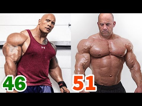 The Rock vs Vin Diesel Transformation  2019