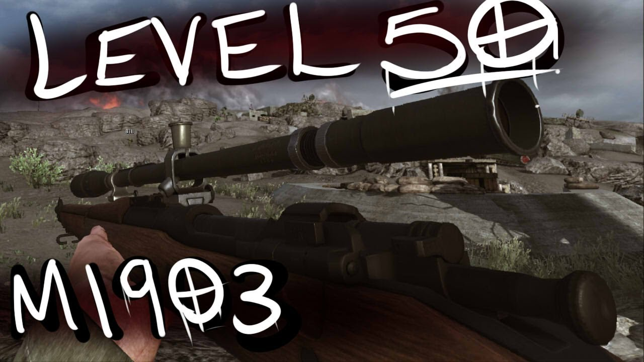 Rising Storm: Level 50 M1903 Springfield Sniper (Fully Upgraded)