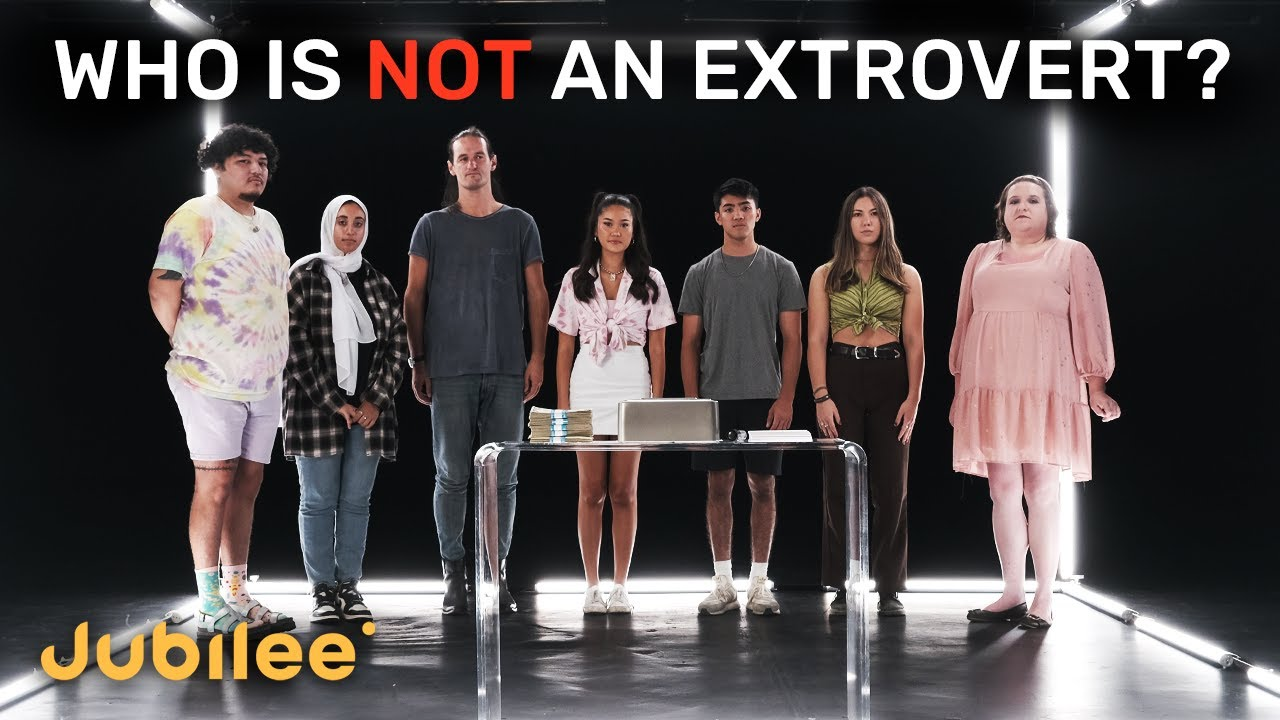 Download 6 Extroverts vs 1 Secret Introvert | Odd One Out