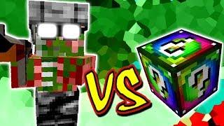 SOLDADO PIGMAN VS. LUCKY BLOCK SPIRAL (MINECRAFT LUCKY BLOCK CHALLENGE SOLDIER)