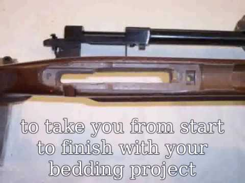 what is glass bedding a rifle