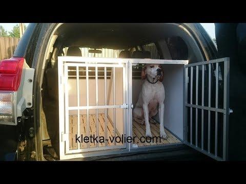 Клетки для перевозки собак в автомобиле своими руками