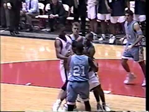 02/19/1995:  #2 North Carolina Tar Heels at #16 Virginia Cavaliers