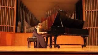 Scarlatti Sonatas K. 9 and K. 487: Sarah