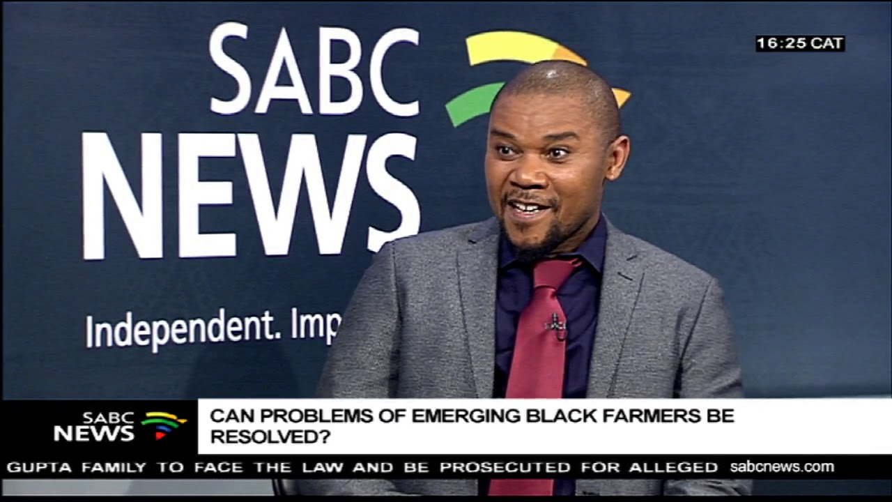 Can problems of emerging black farmers be resolved? - Prof. Cyril Mbatha