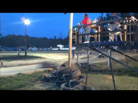 I-24 Raceway clone light heat 2 10-13-12
