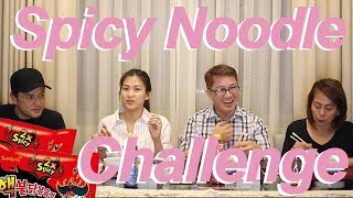 Spicy noodle challenge by Alex Gonzaga
