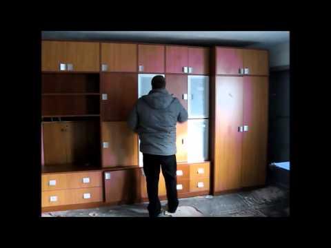 Стенка горка для гостиной Дюна 6 - YouTube