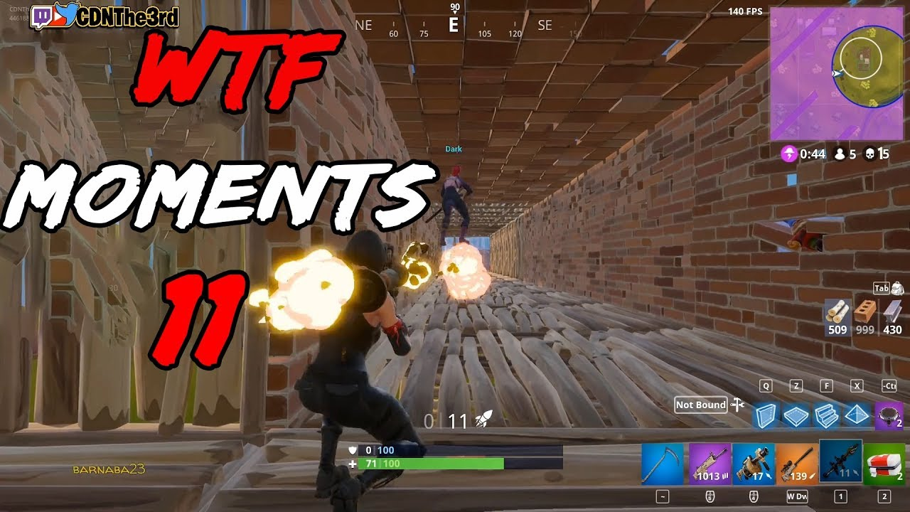 Fortnite Battle Royale daily Funny and Best moments ep. 11