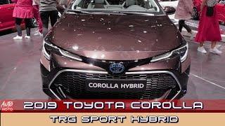2019 Toyota Corolla TRG Sport Hybrid ❤ Exterior And Interior