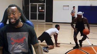 FlightReacts Gets His Ankles BROKEN By BoneCollector! 1vs1 Basketball!