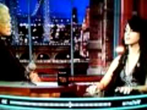 WATCH THIS KATY PERRY INTERVIEWS ON DAVID LETTERMAN ON 8 24 10 (Part 1) from YouTube · Duration:  12 minutes 52 seconds