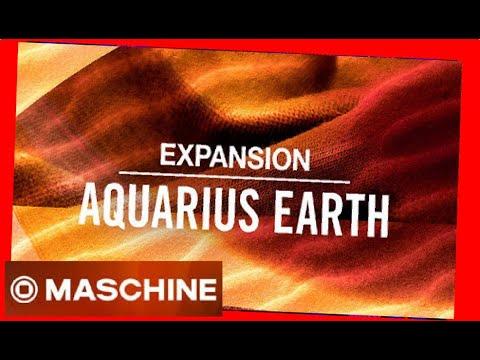 AQUARIUS EARTH - Expansion All Kits - #NativeIntruments #Demo #maschine #battery #kit #drum #pattern