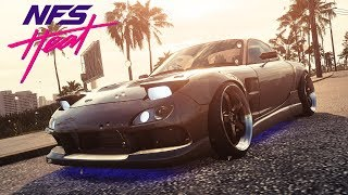 MAZDA RX-7 STREET BUILD   Need for Speed HEAT