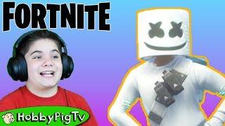 Fortnite NEW Marshmellow Skin with HobbyPigTV