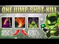 Magical One Shot, One Jump, One Kill [Possible in Normal Games] Dota 2 Ability Draft