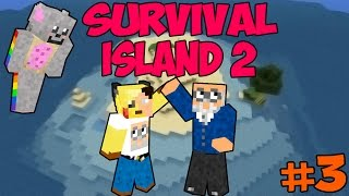 Survival Island 2 with Melisa, Jamie and Kevin - Episode 3 - I am good at FISHING! Thumbnail
