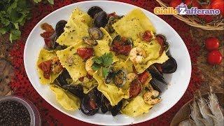 Sea bream and sole ravioli - recipe