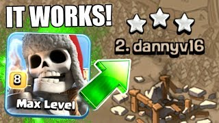 THIS IS HOW YOU USE THE GIANT SKELETON! - THE SECRET TO 3 STAR STRATEGY IN CLASH OF CLANS!
