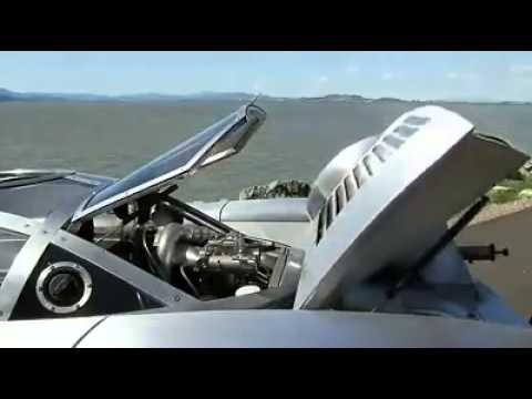 Car can swim amazing اروع سيارة في العالم