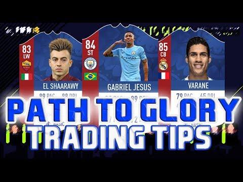 FIFA 18 PATH TO GLORY TRADING TIPS | FIFA 18 TRADING TIPS | FIFA 18 ULTIMATE TEAM