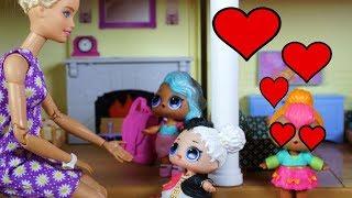 Video LOL SURPRISE DOLLS Barbie Mom Has News For Girls After School And Cutie Has A Secret Admirer! download MP3, 3GP, MP4, WEBM, AVI, FLV Juni 2018