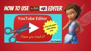 How To Use Youtube Video Editor full Tutorial 2016 In Urdu/Hindi